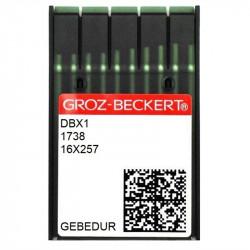 Düz İnce Dikiş İğnesi/ DBX1 GEBEDUR 9/65 100ADET