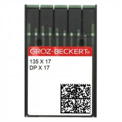 Ponteriz Deri Dikiş İğnesi/ DPX17 20/125 100 ADET