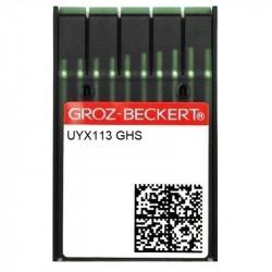 Kısa Lastik Dikiş İğnesi/UYX113 GHS 20/125 100ADET