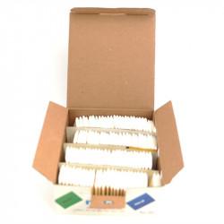 Sabun Çizgi Taşı Beyaz 100 Adet / MUSI-02